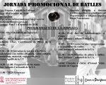 """""""Jornada promocional del joc a ratlles"""""""